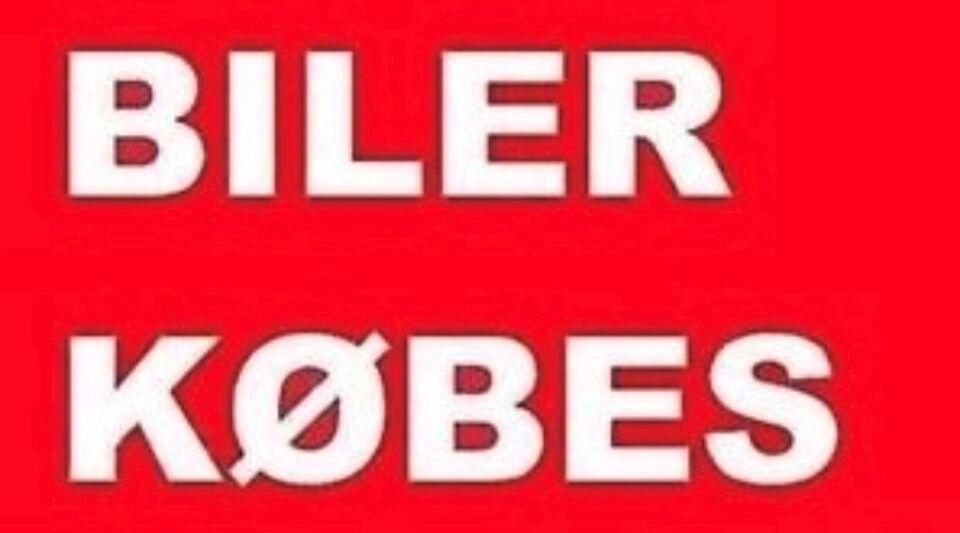 ALLE BILER KØBES TIL EXPORT