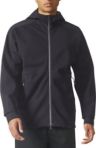 Details about adidas Z.N.E. Duo Mens Training Hoody Black