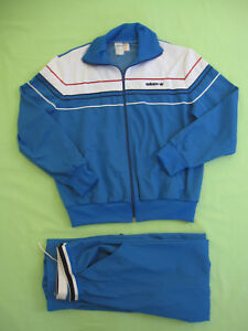 a8cca63dd9 Survetement ADIDAS Ventex 80'S Ciel Made France veste Pantalon ...