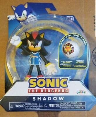 Sonic The Hedgehog Shadow Bendable Action Figure With Sport Accessories Ebay