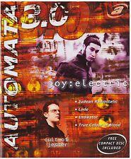 Automata 3.0 Print Magazine & Music CD 2001 Evanescence Origin Voxis Blue Stahli