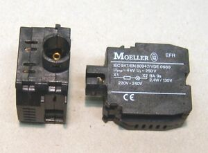 Moeller-RMQ22-Lampenfassungselement-EFR-Neuwertig