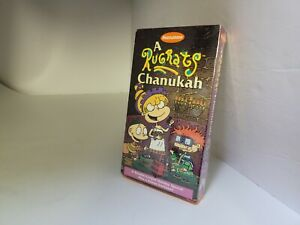 THE RUGRATS HOLIDAY CHRISTMAS CHANUKAH MOVIE ON VHS TAPE (NEW FACTORY SEALED)K35