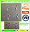 50x-Silver-Gold-Red-Copper-Earring-Hook-Hooks-Coil-Ear-Wire-Posts-Backs-Findings thumbnail 1