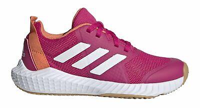 Ehrlich Adidas Performance Kinder Freizeit- Fitness-schuh Fortagym K Schnürer Pink Weiß