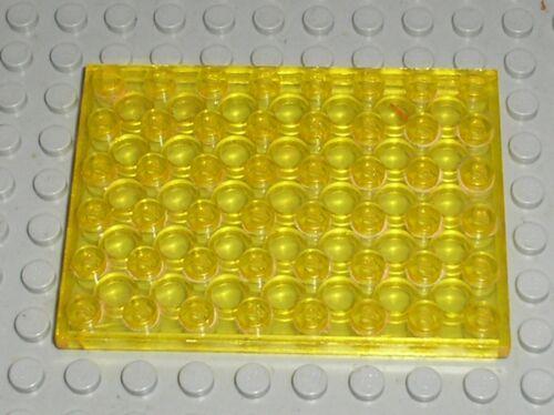 Lego Espace TrYellow Plate 6x8 ref 3036//set 493 926 6970 483 920 6927