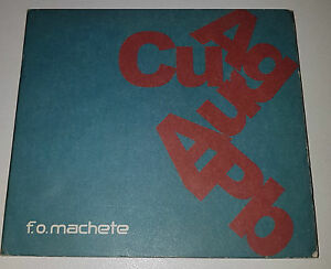 F-O-Machete-If-Gold-Was-Silver-And-Silver-Was-Gold-EP-CD-VERY-GOOD-CONDITION