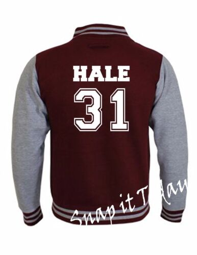 Beacon Hills Lacrosse Teen Wolf Stilinski Lahey McCall Unisex Varsity Jacket