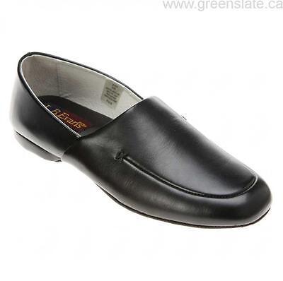 Evans Duke Scuff 2761 Black Leather Slipper*Runs Small* Order Size Up Men/'s L.B