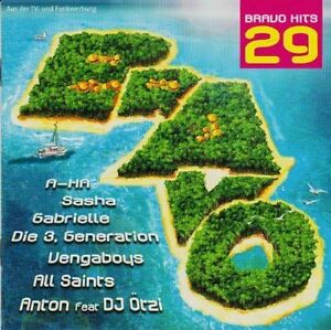 Bravo-Hits-29-2000-3-Generation-Blank-182-Reamonn-HIM-A-ha-Dest-2-CD