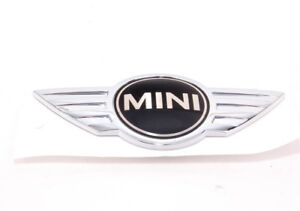 New-Genuine-Mini-R55-R56-R57-R58-R59-Badge-Logo-Front-Bonnet-Hood-Emblem-2754973