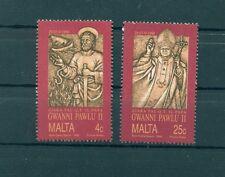 VIAGGI DEL PAPA - POPE JOHN PAUL II VISIT MALTA 1990 set
