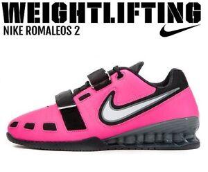 NIKE Romaleos 2 Weightlifting Powerlifting Shoes Gewichtheben Schuhe ROMALEOS | eBay