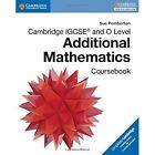 Cambridge IGCSE and O Level Additional Mathematics Coursebook by Sue Pemberton (Paperback, 2016)