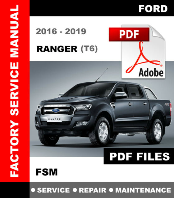 Workshop Manual Ford Ranger T6 Px Mk2 2016