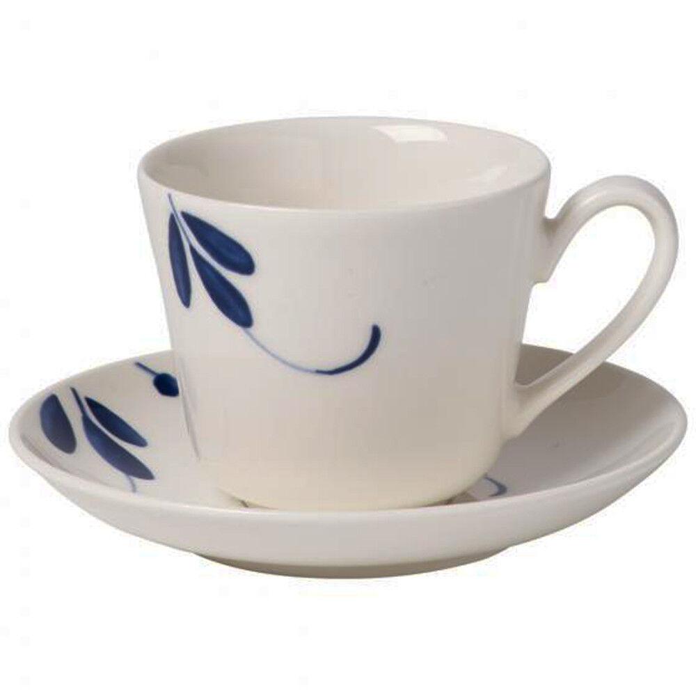 Villeroy & Boch Vieux Luxembourg Brindille Set 6 Tasses café avec soucoupe