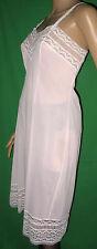OMAS zarte Eleganz Petticoat 30/40er Nylon/Perlon-Unterkleid-Unterrock Gr.42(620