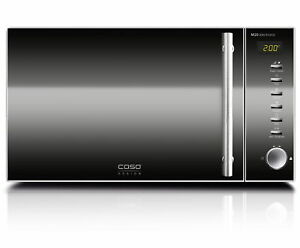 CASO-Design-Mikrowelle-M20-Electronic-800-Watt-Edelstahl-20-Liter-Timer-NEU