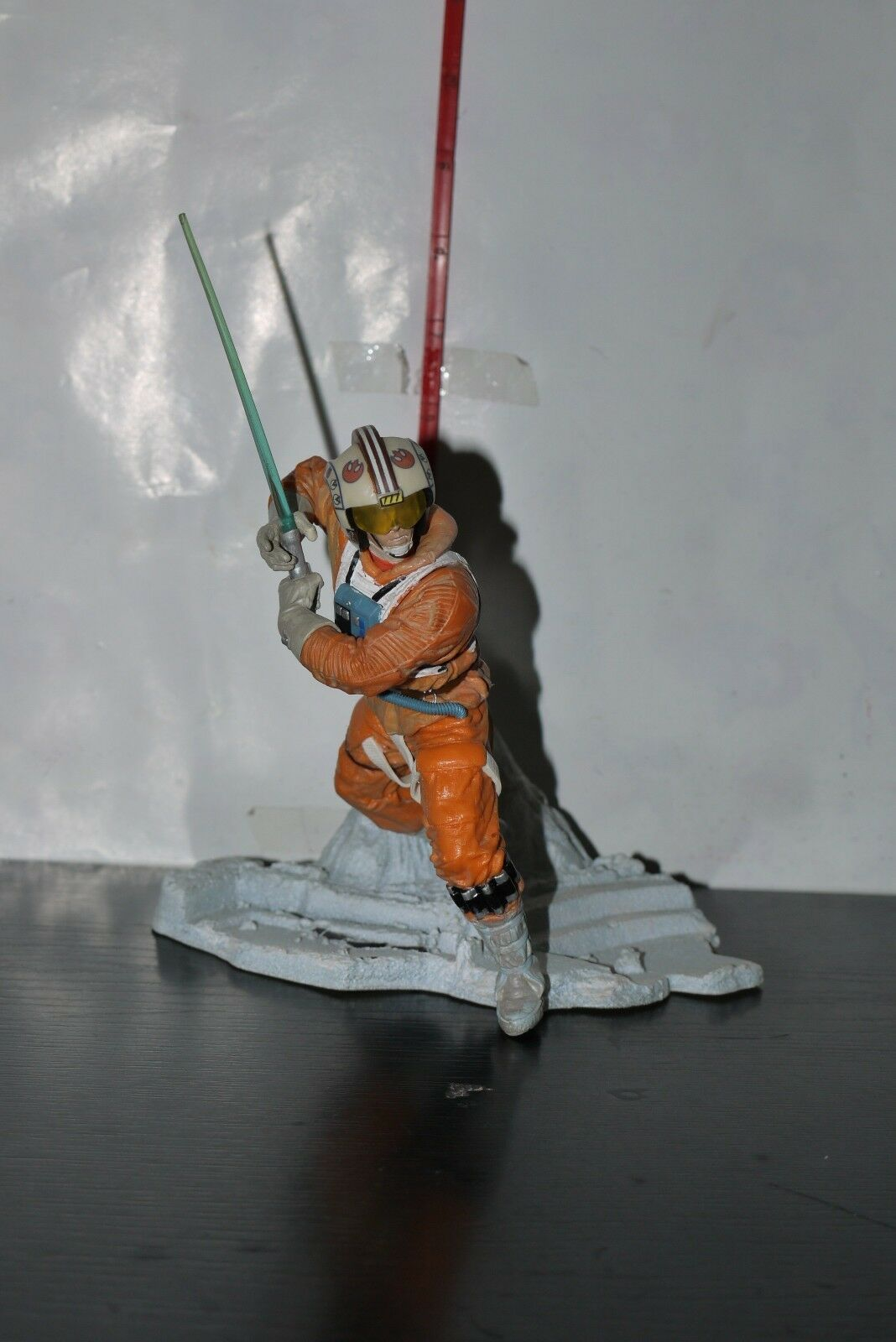 Hasbro Star Wars LUKE SKYWALKER X-WING HOTH Unleashed Figure PVC STATUE