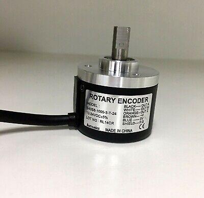 Autonics Rotary Encoder E40S8-1000-3-N-24,New in Box One Year Warranty!