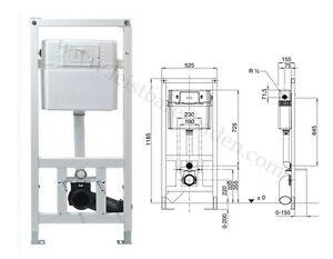 conel vis wc element unterputz sp lkasten 1185 mm mit. Black Bedroom Furniture Sets. Home Design Ideas
