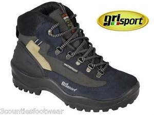 5d9acce43f1 Details about MENS WALKING BOOTS WATERPROOF HIKING BOOTS GRISPORT WOLF