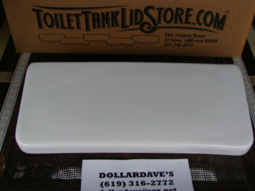WHITE  Smooth top 4BC Sears  4431 Toilet Tank Lid Universal Rundle