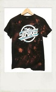 The-Strokes-Acid-washed-t-shirt