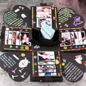 Details About Uk Novelty Diy Bomb Explosion Box Xmas Birthday Scrapbook Photo Album Gift Boxes