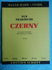 Der Praktische Czerny Edition Schott Unterstufe II 3722 Noten Klavier Lernheft