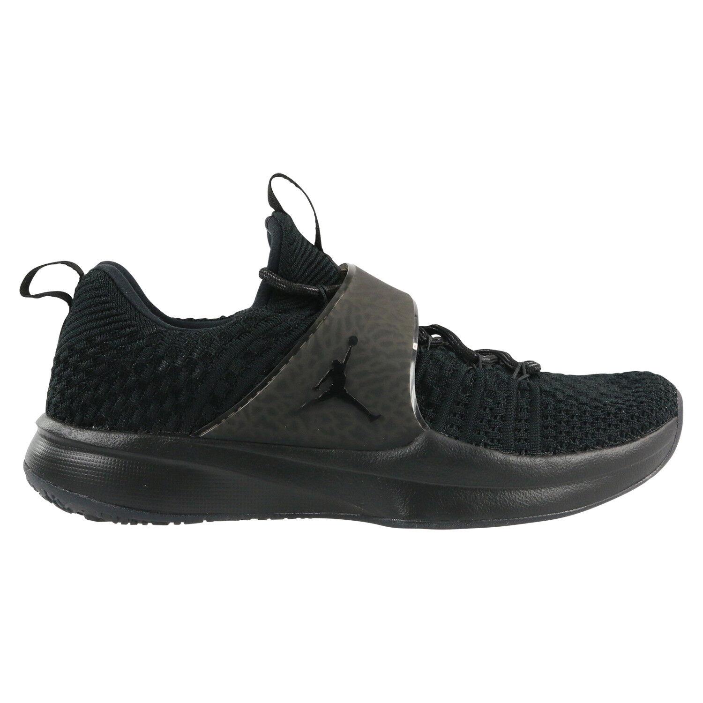 Nike Air Jordan Trainer 2 Flyknit Schuhe Turnschuhe Herren Schwarz