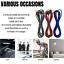 miniature 8 - 3Pack 10Ft Braided USB Fast Charger Cable For iPhone 12 11 8 6 XR Charging Cord