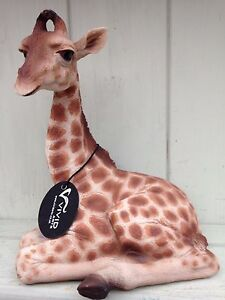 Baby Giraffa NUOVO Vivid Arts Indoor Outdoor Ornamento £ 16.99 							 							</span>