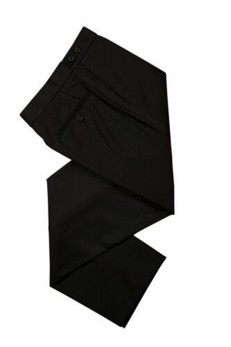 Pantalon Dîner costume noir formelle Prom croisière robe de mariage de smoking Pantalon NOUVEAU