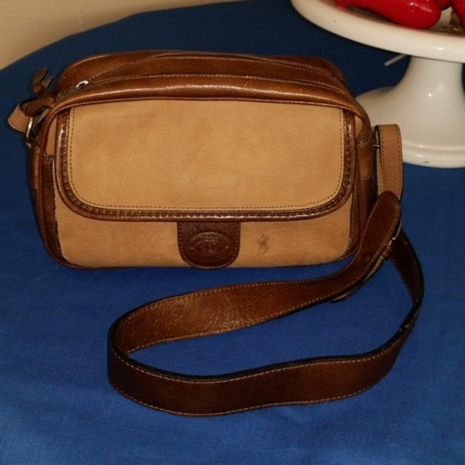 Tano International double zip purse crossbody