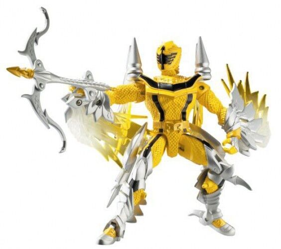 Power Rangers Mystic Force Gelb Ranger to Thunder Dragon Action Figure