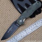 Ontario-RAT1 Camo Black Folding Saber Knife Camping Tactical Hunting Fruit Tools