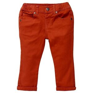 Boys-Brand-New-With-Tags-Mecca-Orange-Stretch-Jeans-Size-18-24-Months