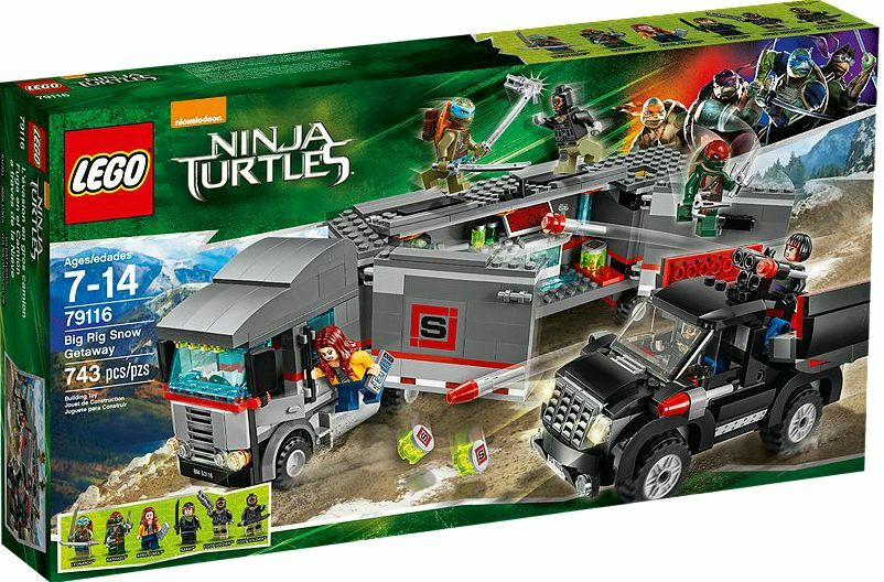 LEGO ® Teenage Mutant Ninja Turtles 79116 BIG RIG Snow Getaway NUOVO NEW MISB NRFB