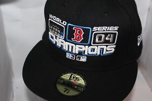 100% authentic 17833 31c5e Details about Boston Red Sox New Era MLB 2004 World Series Champions Locker  Room 59Fifty,Hat *