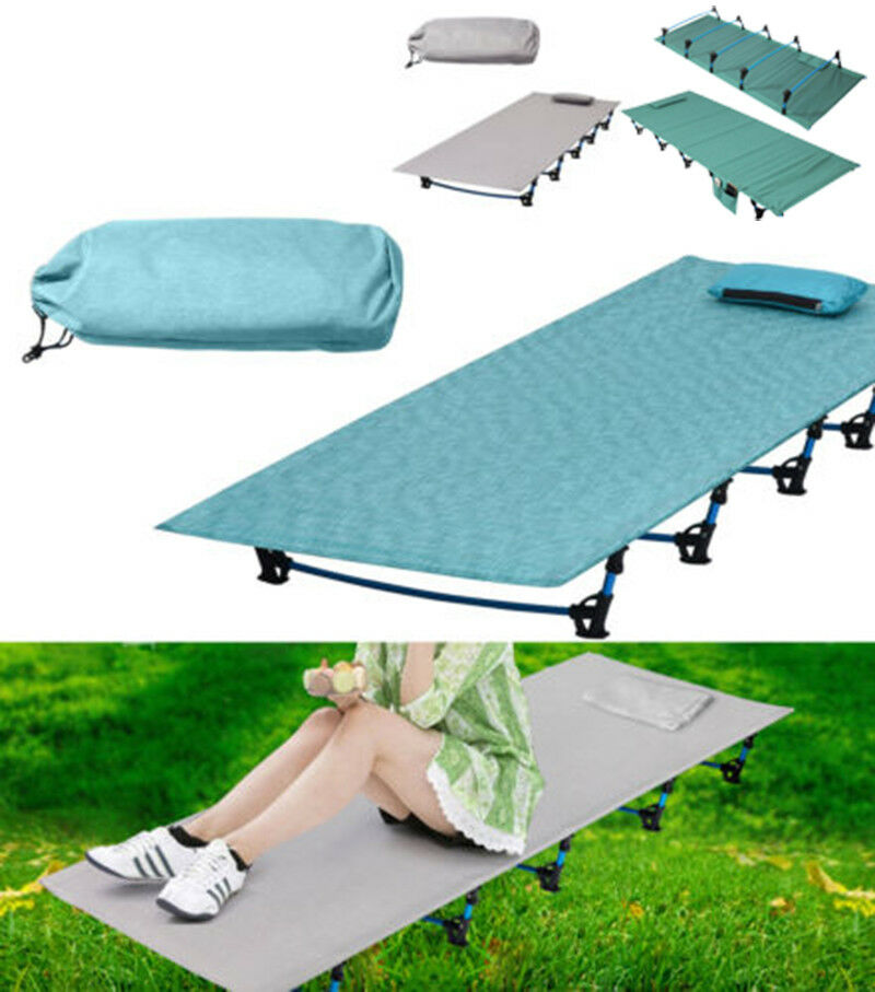 Ultralight Foling Single Camping Bed Aluminium Alloy Tent Cot Outdoor EquipMänt