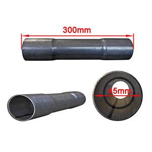 Rohrverbinder Auspuff Rohr Verbinder Ø 53mm  Länge 125mm