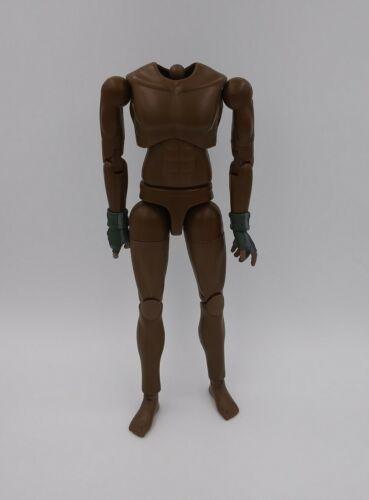 """Échelle 1//6 1:6 BBI Rogue AA Noir Nu Masculin corps avec des mains gantées 12/"""""""