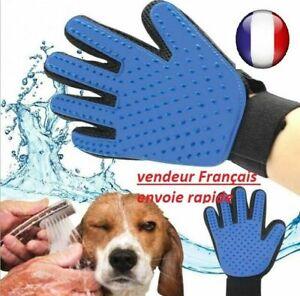 Gant Toilettage Animaux Gant Brossage Doux Pour Chiens et Chats Brosse Massage