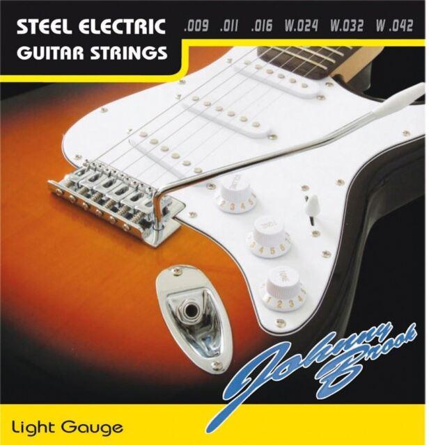 Electric Guitar Strings Set of 6 (Gauge Extra-Light)