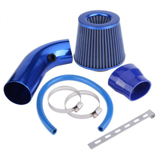 """Clamp Kit Auto Truck Cold Air INTAKE Universal Racing 3/""""  FILTER+Pipe+Filter"""