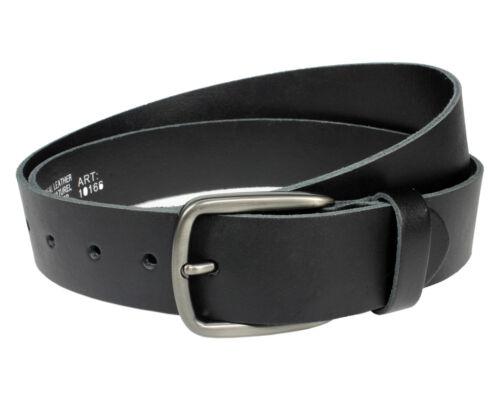 Gürtel echt Leder Jeansgürtel 4 cm Herren Damen Ledergürtel leather belt Vascavi
