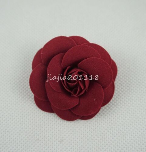 Fit For 18/'/' American Girl Red Flower Hair Clips Headwear Doll Accessories Gift