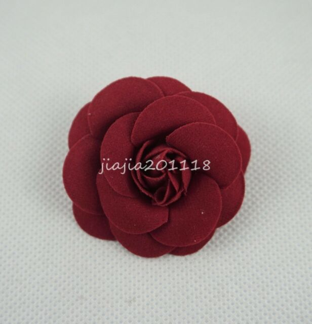 Pink Red Flower Hair Clips For 18 American Girl Doll Headwear