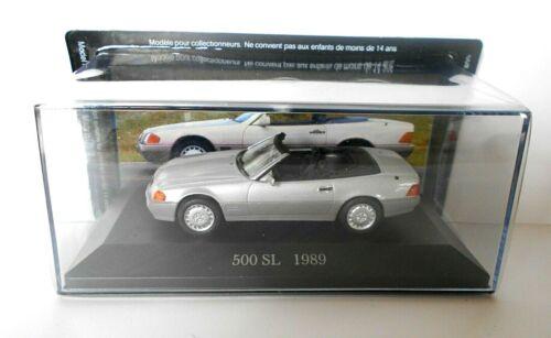 DIE CAST 500 SL 1989 MERCEDES COLLECTION SCALA 1//43  #56